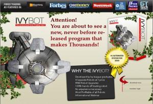 IvyBot Forex Robot Software Ivy Bot