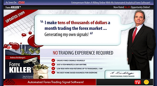 Forex Killer Forex Robot Forex Trading System Automated Forex Software Forex Entry Exit Signals Forex Chart